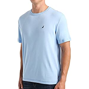 Nautica Men's Short Sleeve Crew Neck Soft Knit Sleep Tee