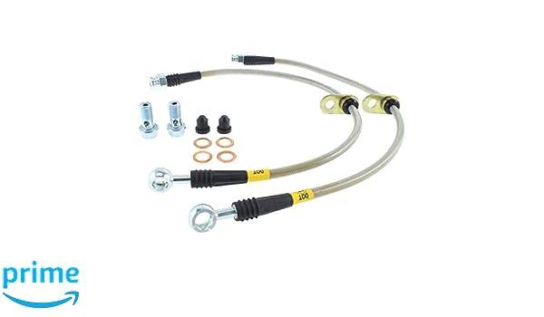 StopTech Stainless Steel Brake Line Kit 950.35504