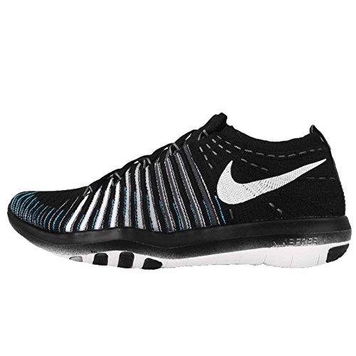 Nike Wm Free Transform Flyknit, Zapatillas de Gimnasia para Mujer, Negro (Black / White-Wolf Grey-Drk Grey), 46 EU