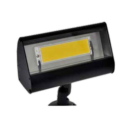 Focus Outdoor Floodlight - Focus LFL-01-LEDP812VBLT Outdoor Led Flood Light with No Shades, Black