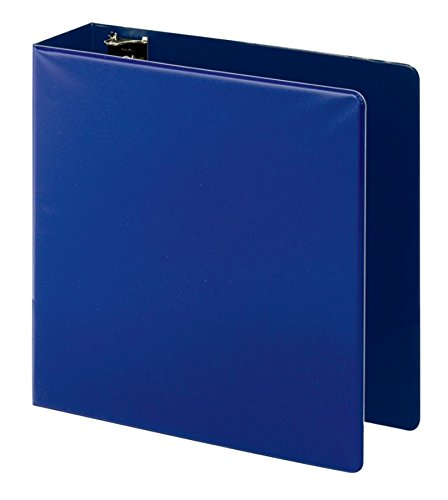 OfficeMax Durable Reference Binders with Round Ring 3'', Blue by OfficeMax (Image #1)