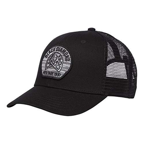 Black Diamond Trucker Hat - Aluminum Knit/Black ()