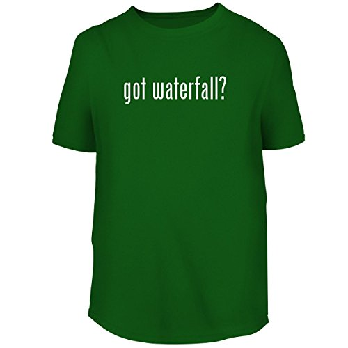 - BH Cool Designs got Waterfall? - Men's Graphic Tee, Green, Large