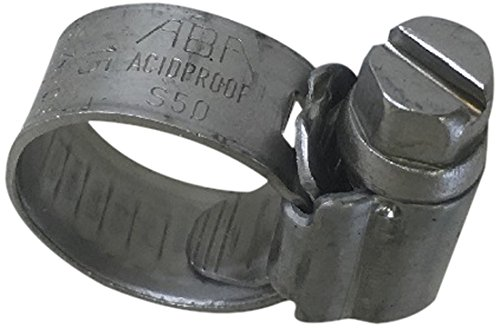 Scandvik 08116112011 Stainless Steel Hose Clamp (SAE Size 3, 8-14 mm, 5/16