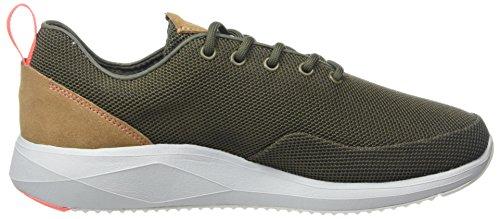 Boxfresh Uomini Oscard Sneaker Verde (cachi)