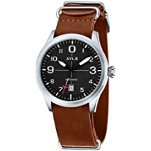 Tan Flyboy Automatic Watch by AVI-8