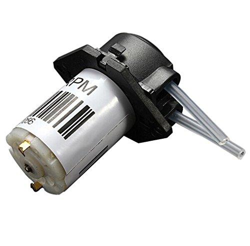 Homecube 12V DC Peristaltic Liquid Pump Miniature Dosing ...