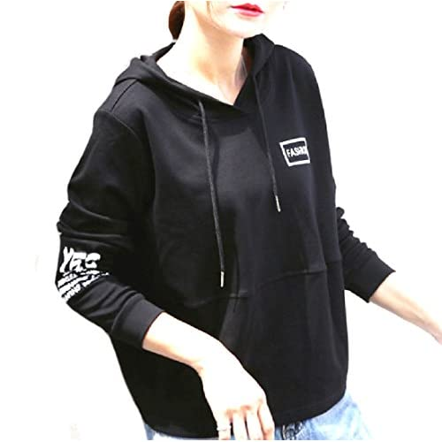 Abetteric Women Hooded Lightweight Oversized Preppy Chic Tracksuit Top for sale