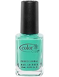 Color Club Poptastic Neons Nail Polish, Age of Aquarius, Neon, Turquoise.05 Ounce