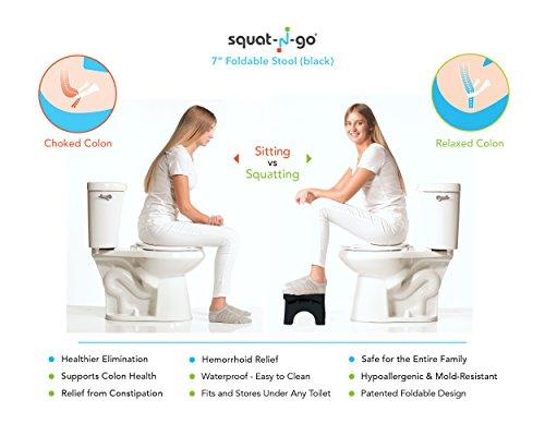 Squat N Go 7 Folding Squatting Stool The Only Foldable