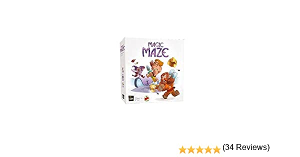 Magic Maze (castellano): Amazon.es: Juguetes y juegos