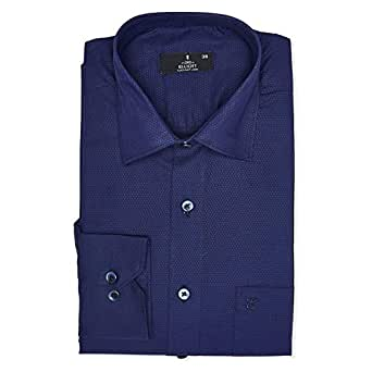 Elliott Purple Shirt Neck Shirts For Men