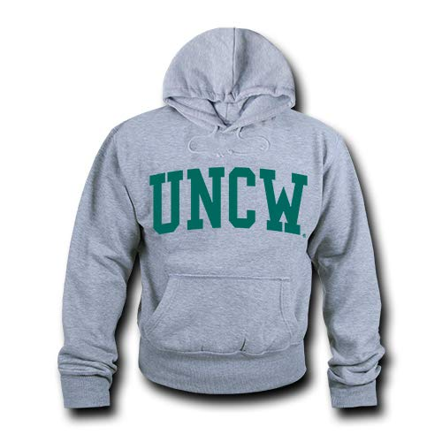 W Republic NCAA North Carolina Wilmington Seahawks Unisex 503Game Day Hoodie, Heather Grey, Large from W Republic