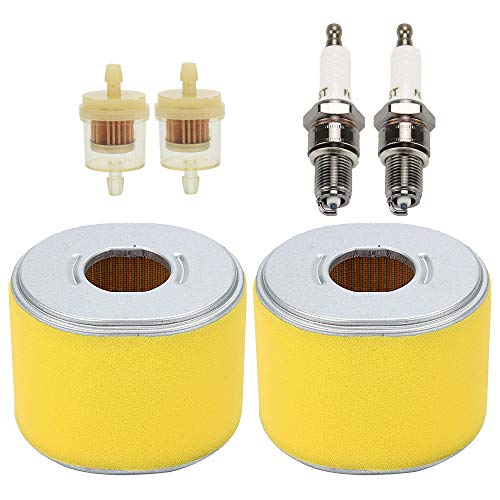 Buckbock 17210-ZE3-505 Air Filter Fits for Honda GX390 GX340 11HP & 13HP Engin Replace 17210-ZE3-010 100-012 30-417 19-7712 5252697 2893907 with Spark Plug ()