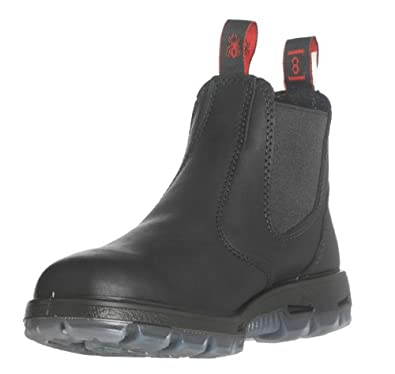 f9ceec4209d RedbacK Boots USBBK Easy Escape Steel Toe - Black Leather Work Boots
