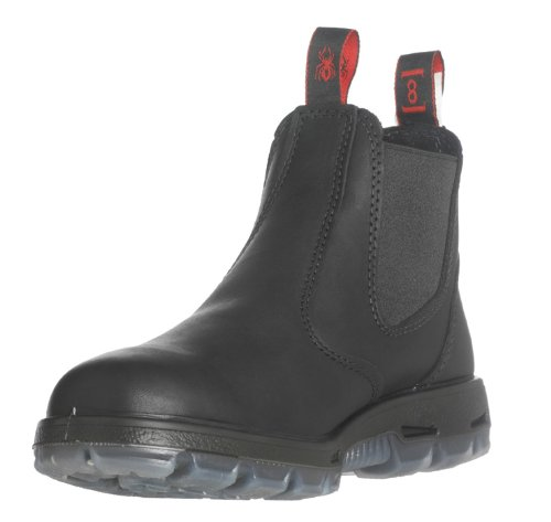 Redback Boots Work Boots, Steel, 3, Black, PR, 9.5 M US by Redback Boots (Image #2)