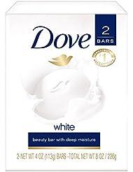 Dove Beauty Bar, White 4 oz, 2 Bar