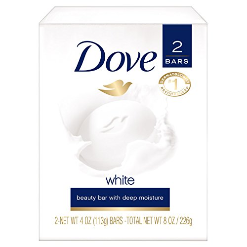 Dove Beauty Bar, White 4 Ounce (Pack of 2) from DOVE BAR