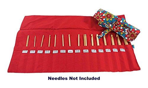 della Q Crochet Roll for Crochet Hooks (Sizes A to N); 110 Belmont 168-2-110 by della Q (Image #1)