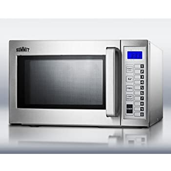 Amazon Com Summit Scm1000ss Microwave Stainless Steel