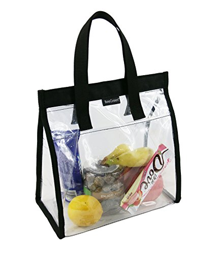 Heavy Duty Clear Plastic Tote Bags - 7
