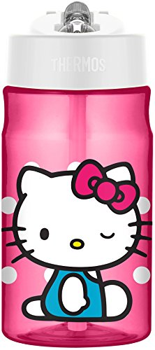 Thermos 12 Ounce Tritan Hydration Bottle, Hello Kitty ()
