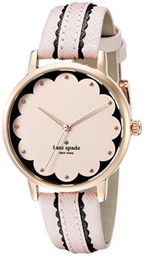 kate spade new york Women's KSW1003 Metro Analog Display Analog Quartz Pink Watch