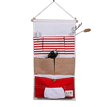 Feicuan Wall Storage Bags, Door Hanging Fabric Pouch Case Home Organizers 13 Pockets Guangzhou Ake Information Technology Co. LTD