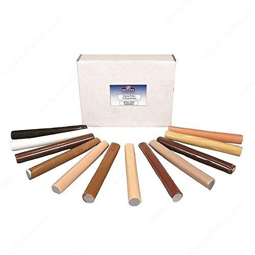 Epoxy Putty Sticks, Finish 12 Colors Kit M743