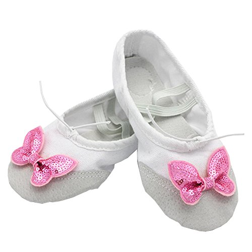 Lisianthus002 - Zapatillas de danza de Lona para niña multicolor - A