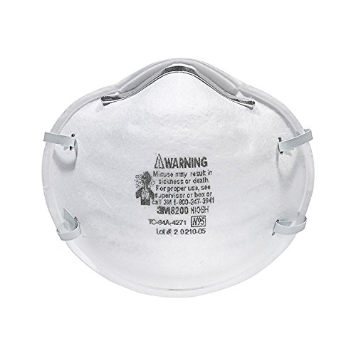 3M 8200 Particulate Respirator N95, 2 Boxes of 20 (40) by 3M (Image #1)