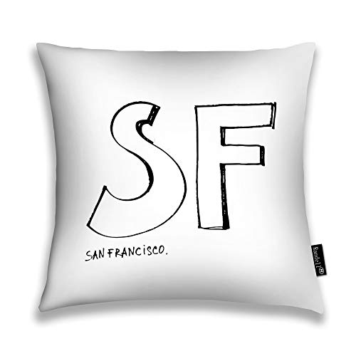 Randell Throw Pillow Covers San Francisco Home Decorative Throw Pillowcases Couch Cases 20