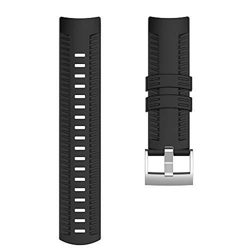 NOGOQU For Suunto 9 Baro Smart Watch Sport Silicone Wrist Band Strap...
