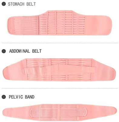 Fs 3 In 1 Postpartum Support Recovery Belly Waist Pelvis Belt Shapewear Waist Belts For Women Size Xl Amazon Co Uk Kitchen Home