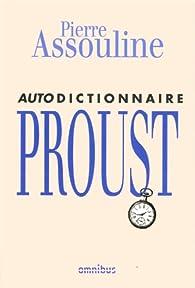 Book's Cover ofAutodictionnaire Proust