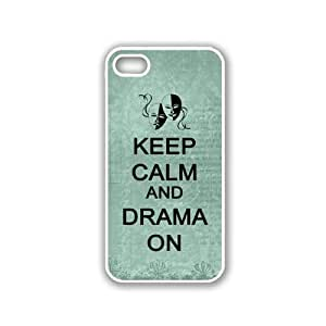 Keep Calm And Drama On Aqua Blackberry Z10 Case - For Blackberry Z10