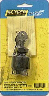 Johnson Electric Outboard (SEACHOICE 11651 Johnson/Evinrude Ignition Starter Switch)