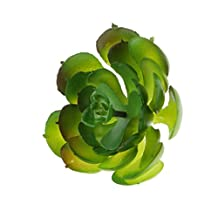 Artificial Succulent Real Touch Gem Lotus Flower Foliage Decor Pink Green