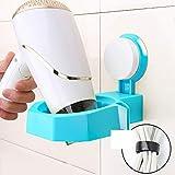Hair Dryer Rack Free Punch Toilet Rack Bathroom Wall-mounted Wind Tube Rack-B