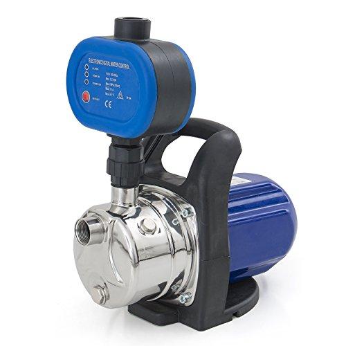 ARKSEN 1200W Shallow Well Booster Jet Water Pump Auto Pre...