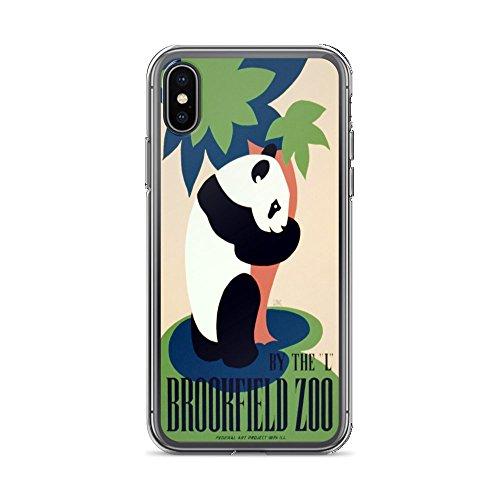 Vintage Poster - Brookfield Zoo 0356 - iPhone XR Phone Case -