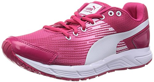 PumaSequence W - Zapatillas de running mujer Pink/White
