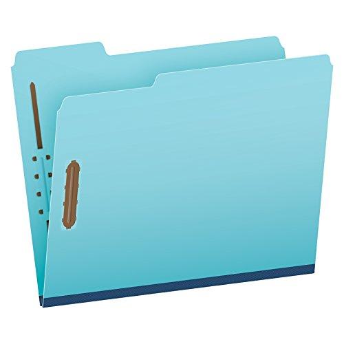 (Pendaflex Pressboard Fastener Folders, Letter Size, Light Blue, 1
