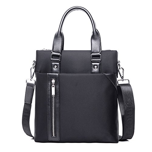 Bolsos De Negocio De Los Hombres Bolsos Bolsos De La Computadora A4 Maletín Casual Bag Male Bag Bolsa De Hombro Messenger Bag Male Bag Black