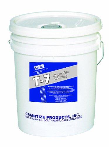 Granitize T-7 Auto Super Tire Dressing - Rubber-Plastic - 30 Gallon