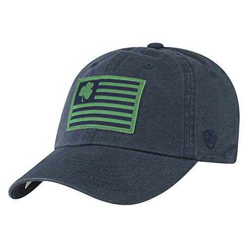 Elite Fan Shop Notre Dame Fighting Irish Hat Navy Flag