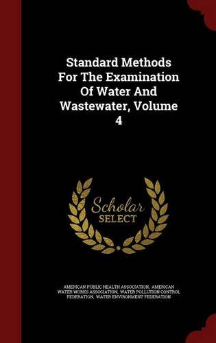 standard methods for the examination of water and wastewater pdf