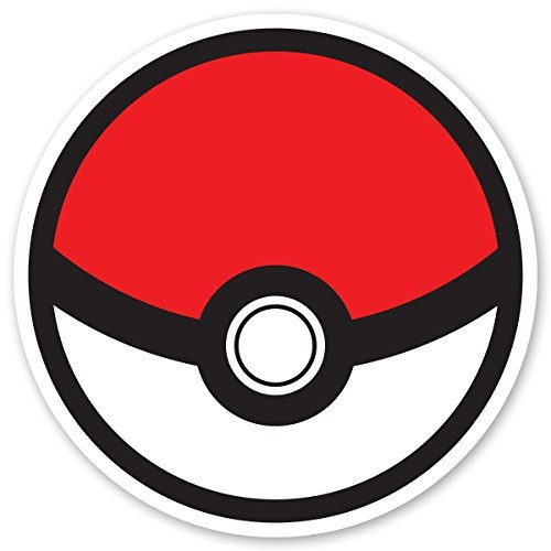 Pokemon Go Decal -  Pokeball Decal Sticker for Car Truck Mac