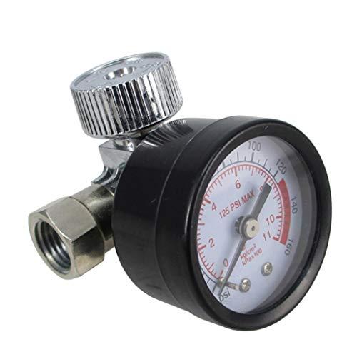 Fan-Ling Air Pump Pressure Regulating Valve for HVLP Sprayer Air Regulator,Pressure Gauge and Diaphragm Control