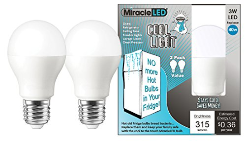 MiracleLED 604064 Refrigerator and Freezer Long Life Led ...